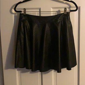 Dresses & Skirts - XOXO Faux leather mini skirt